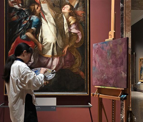 Ignazio Gadaleta, Nuova Scuola di Colorito di Brera, Milano, Pinacoteca di Brera, Sala IX, 2019
