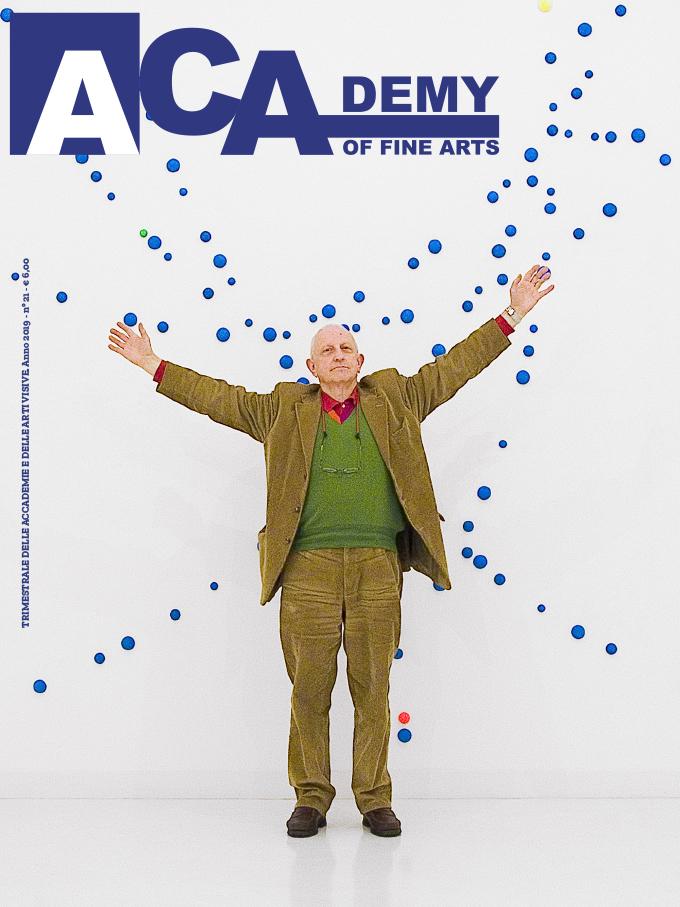 """Ignazio Gadaleta, Enrico Crispolti maestro e «compagno di strada», in """"Academy of fine arts"""", anno 2019, n. 21, pp. copertina, 12-17"""