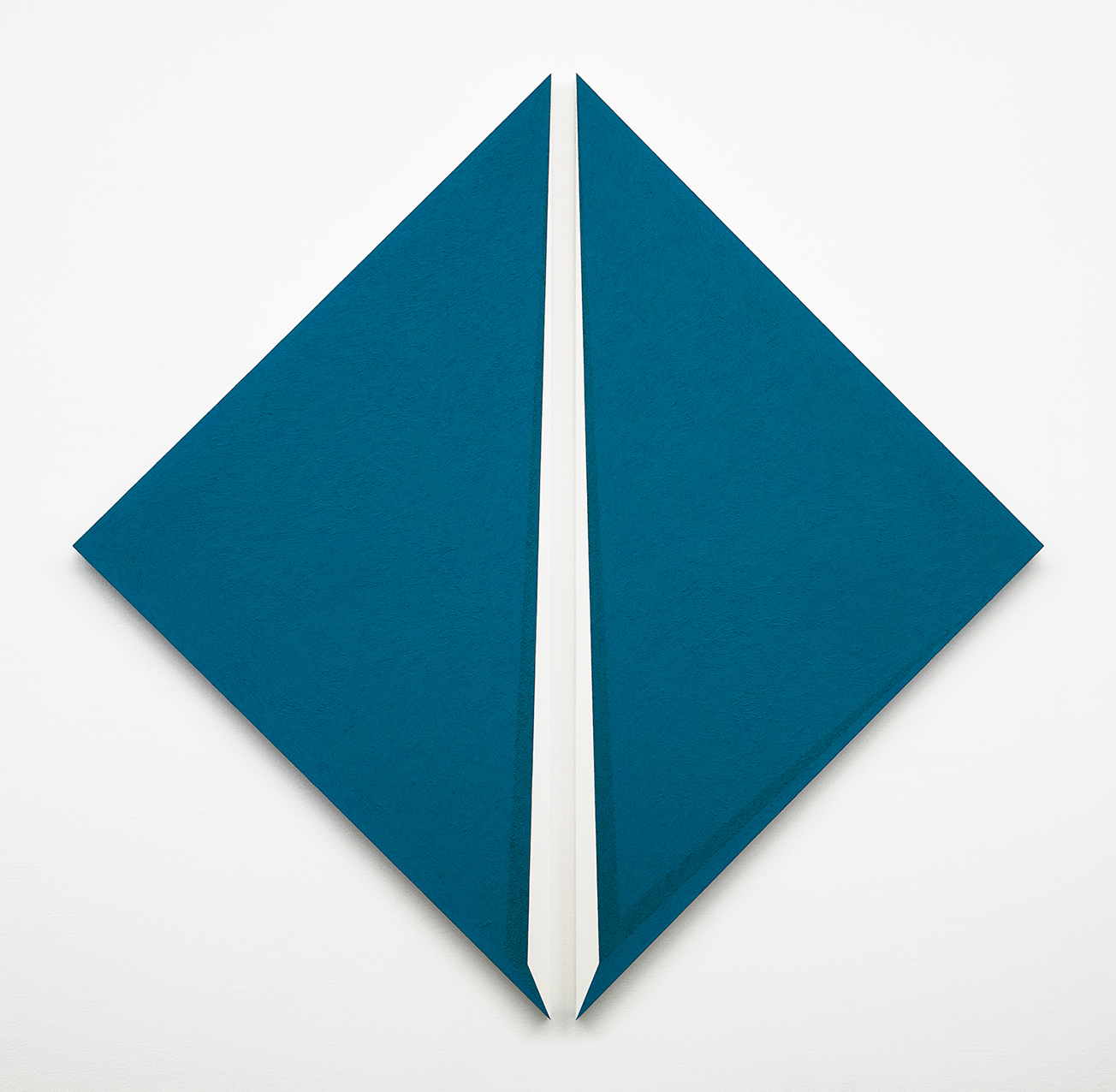 Ignazio Gadaleta, Virtuale, 1993, olio su tavola, 141,7 x 145,2 x 3,5 cm | Milano, Museo del Novecento